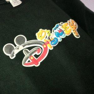 Vintage Disney spell out logo CREWNECK size medium